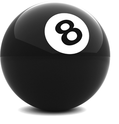 Photo of an 8 ball